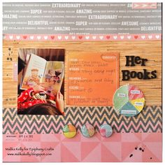 Layout made with the #epiphanycrafts Shape Studio Tool Round 25 available at #MichaelsStores www.epiphanycrafts.com #scrapbook #layout