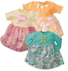 SewBaby! Quick and Comfy Dresses Pattern  Item Number: SB-002  Our Price: $7.98 per Each