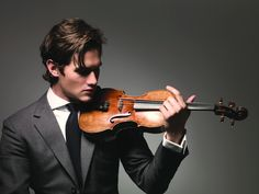 He plays the 1735 Guarneri del Gesu d'Egville violin, which was also played by Yehudi Menuhin, a legendary American violinist.