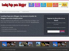Plantilla Landing page para blogger V2 « Widgets y Plugins para Blogger