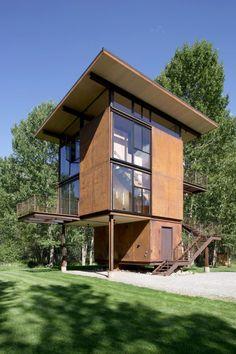 Refugio Delta | Arquitectura en acero