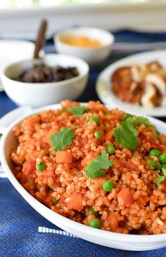 Spanish Brown Rice Recipe 21 day fix approved (save some yellow space)
