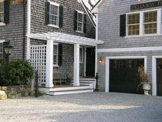 Rattlebridge Farm: Renovation Diary--Black Garage Doors Plus Vote on a Light Fixture