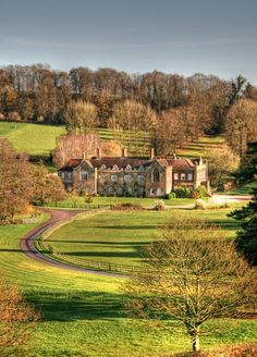 beautiful country house
