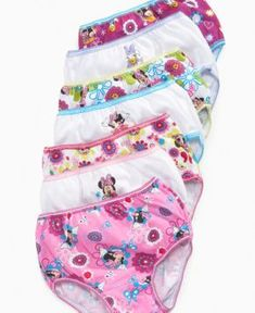 Minnie Mouse Disney Cupcake Three Pack Knicker Briefs Set Spring Summer Collection