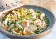 Tajine met kip en venkel - Keuken♥Liefde