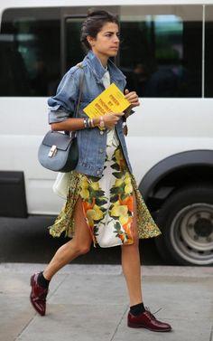 New fashion week street style denim leandra medine 38 Ideas Leandra Medine, Style Outfits, Mode Outfits, Fashion Outfits, Fashion Weeks, Casual Outfits, Look Fashion, Trendy Fashion, Womens Fashion