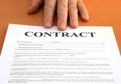 A dog training contract is protection for you and your client. It is a MUST!