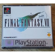 Final Fantasy Vii, Playstation, Finals, Retro Vintage, Gaming, Anime, Videogames, Final Exams, Games