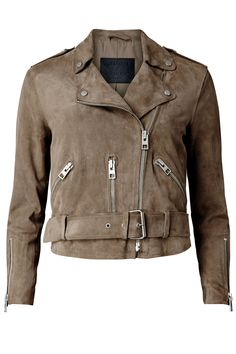 This leather jacket from All Saints is the perfect fall coat!