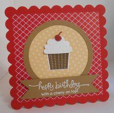 Stampin Up Cupcake Punch