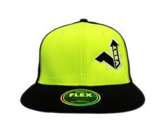 Vert Decky Fitted FLEX Neon Green Decky Fitted FLEX is a constructed baseball cap and features versatile Flex Fitting and a retro flat bill. Clothing Company, Neon Green, Baseball Hats, Retro, Fitness, Clothes, Fashion, Outfits, Moda