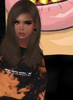 IMVU, the interactive, avatar-based social platform that empowers an emotional chat and self-expression experience with millions of users around the world. Devil Aesthetic, Aesthetic Songs, Aesthetic Colors, Aesthetic Grunge, Aesthetic Girl, Female Avatar, Bff Drawings, Avakin Life, Gothic Anime