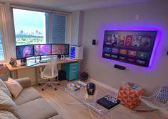 Central Park View Gaming Setup: AMAZING! – Best Game Setups