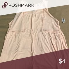 Pale pink tank Brand new with tags. Pale pink tank. Old Navy Tops Tank Tops
