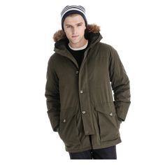 ac57f8c30cc3c Men s Winter Parka in Dark Olive from Joe Fresh