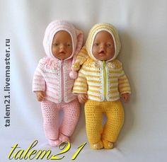 вязание для Baby Born