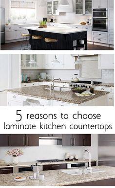 reasons to choose laminate kitchen countertops