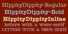 HippityDippity™ - Webfont & Desktop font « MyFonts