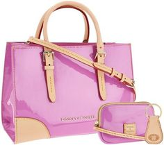 This Orchid colored bag is Springtime chic! [Promotional Pin]