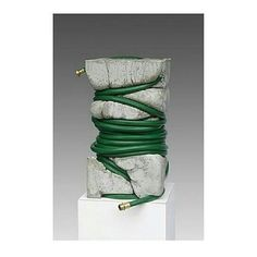   I N S P I R A T I O N    art - material combination - form - by @jeffmuhs Visit pejtrend.dk for more trends and trend products. #pejtrend #pejgruppen #inspiration #trends #art #material #combination #form #twist #concrete #gardenhose