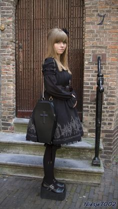 Gothic Lolita...I love the coffin purse. Now dats siiiiick!