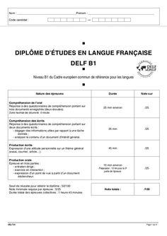 Delf+b1