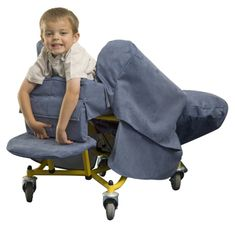 """Small Tiltrite Chair - Supportive seating with """"Tilt in Space"""" for 2-7 year olds. Offering younger users the versatility of the Medium chair, the small Tiltrite can also be used as a """"Tilt in Space"""" chair, a bed, for prone lying or head down for drainage. Suitable for 2-7 years of age. Also available with Fingerform back option where extra support is required. NB We do not offer this size with electric power."""