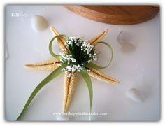 Dried star fish as a wedding gift