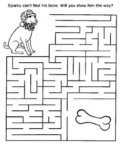 free printable mazes for kids - Printable Children Activities