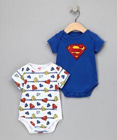 Cute little Superman onesies!