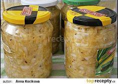 Cuketové zelí,zavařené na zimu i jiné roční období Homemade Pickles, Home Canning, Chutney, Preserves, Kimchi, Sweet Potato, Cucumber, Food To Make, Frozen