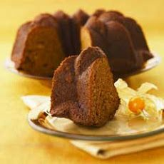 Apple-gingerbread Cake...I will be using real butter