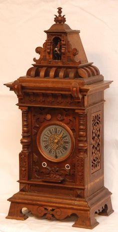 odd antique clocks - Google Search
