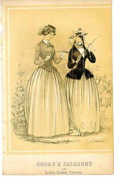 Ladies riding dresses
