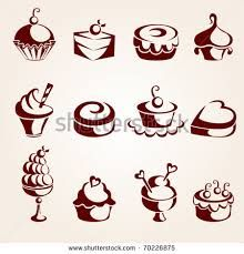 Image result for cupcake icon