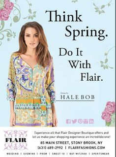 Think Spring with Flair!