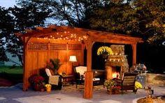 Resultado de imagen para pergolas de madera para patios