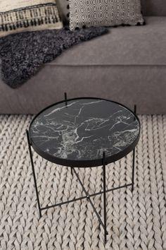 Zuiver Cupid Marble Beistelltisch 43 bei www.flinders.de #marmorlook #marmor #interiordesign #dutchdesign