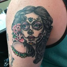 Healed #dayofthedead girl i did a while back. - http://ift.tt/1HQJd81