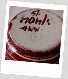 Hank Keramik - Norge Pottery Marks, Scandinavian, Coasters, Porcelain, Retro, Porcelain Ceramics, Coaster, Retro Illustration, Tableware