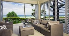 Blinds-n-Shutters are a Newcastle based business serving Newcastle and the Hunter Valley. We specialise in Quality Custom Made Blinds and Plantation Shutters for both inside and outside of your home. Outdoor Sofa, Indoor Outdoor, Outdoor Living, Outdoor Furniture Sets, Coastal Furniture, Outdoor Decor, Interior Fit Out, Interior Exterior, Interior Design