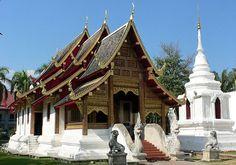 Wat Prasat : Chiang Mai, Thailand