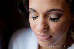 Natural bridal makeup with mink eyelashes by Baltimore MD makeup ...