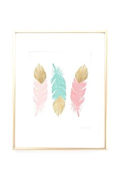 Pink and Gold Feathers Art Print, Love Arrows Wall Art, Love and Gold Arrows Wall Art, Pink and Gold Nursery Wall Art, Office Wall Art Pastel Room Decor, Diy Room Decor, Art Decor, Pastel Girls Room, Gold Nursery, Nursery Wall Art, Nursery Decor, Nursery Office, Home Decoracion