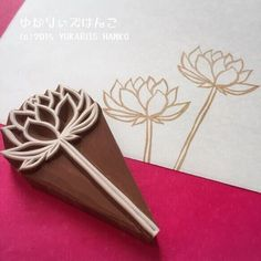 Incredibly Amazing Lotus Foam on Filled Beer Glass Stamp # Crafting . - Incredibly amazing lotus foam stamp on filled beer glass # tinker for kids The p - Stamp Printing, Printing On Fabric, Eraser Stamp, Stamp Carving, Fabric Stamping, Handmade Stamps, Wood Stamp, Flower Stamp, Linocut Prints