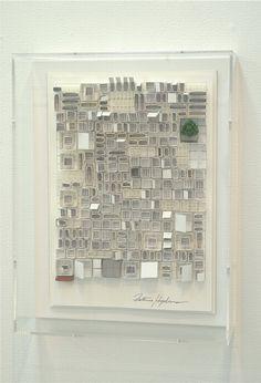Katsumi Hayakawa - reminds me of Klee, Nevelson, and Albers
