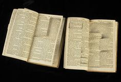 Thomas Jefferson's Copy & Paste Bible: edited with scissors, snipping out every miracle and inconsistency he could find in the New Testament. Thomas Jefferson, Secular Humanism, John Macarthur, Religion And Politics, Jesus Lives, History Of Photography, Jesus Cristo, Atheism, Frames