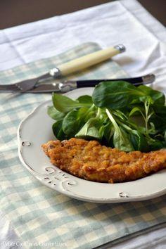 Cotoletta alla milanese ou Wiener Schnitzel ? Escalope panée...