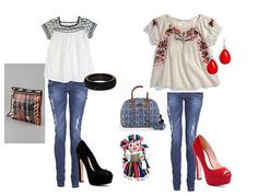 OUTFITS A LA MEXICANA - FashionIn